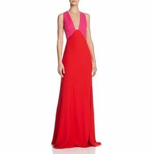 JILL JILL STUART Colorblock Full-Length Dress